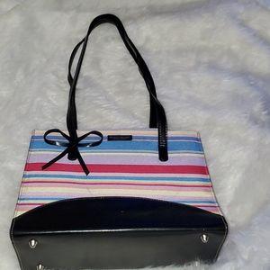 Kate Spade Multi Color Striped Bag